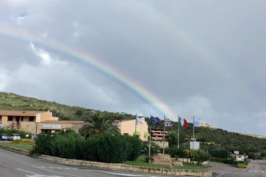 Double rainbow in Tanca Manna!